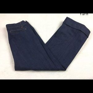 Gap Women Trouser Jeans Size 6 Wide Leg Stretch